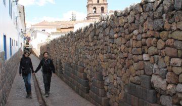 Inca street, Cusco